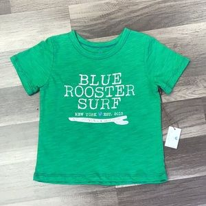 Blue Rooster green tee